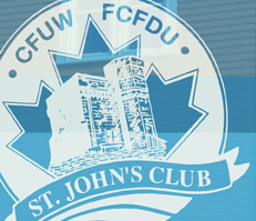 More than 100 women are members of the St. John's Club of CFUW.